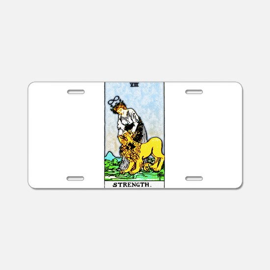 Strength.png Aluminum License Plate