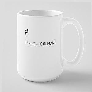 Command # Large Mug