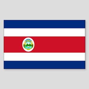 Costa Rica World Flag Bumper Sticker