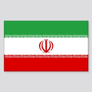 Iran World Flag Bumper Sticker