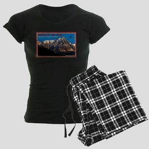 Chamonix Paragliders Women's Dark Pajamas