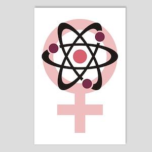 Female Scientist Postcards (Package of 8)