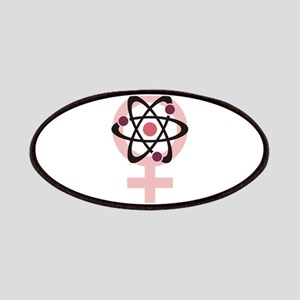 Female Scientist Patches