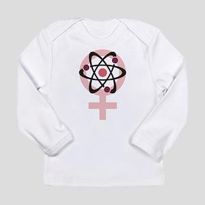 Female Scientist Long Sleeve Infant T-Shirt