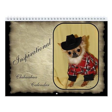 Chihuahua Wall Calendar (2013 Photos)