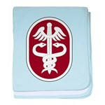 Medical Command baby blanket