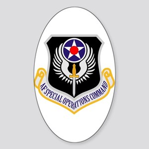 AF Spec Ops Command Sticker (Oval)
