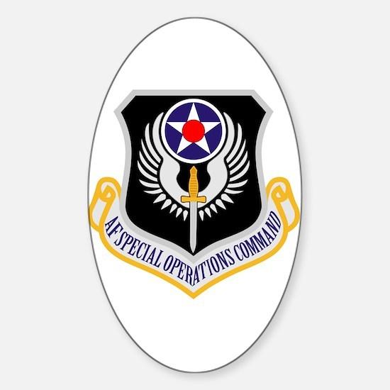 AF Spec Ops Command Sticker (Oval)