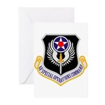 AF Spec Ops Command Greeting Cards (Pk of 10)