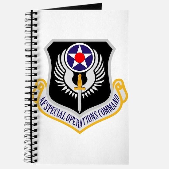 AF Spec Ops Command Journal