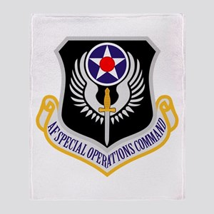 AF Spec Ops Command Throw Blanket