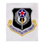 AF Spec Ops Command Throw Blanket