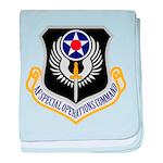 AF Spec Ops Command baby blanket
