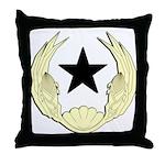 Cape Verde Emblem Throw Pillow