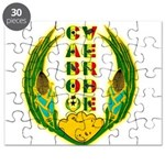 Cabo Verde Emblem Puzzle