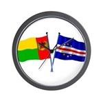 Cape Verde Flags Wall Clock