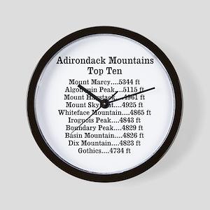 ADK Top Ten Wall Clock