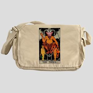 The Devil Major Arcana Tarot Card Messenger Bag