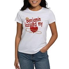 Benjamin Lassoed My Heart Women's T-Shirt