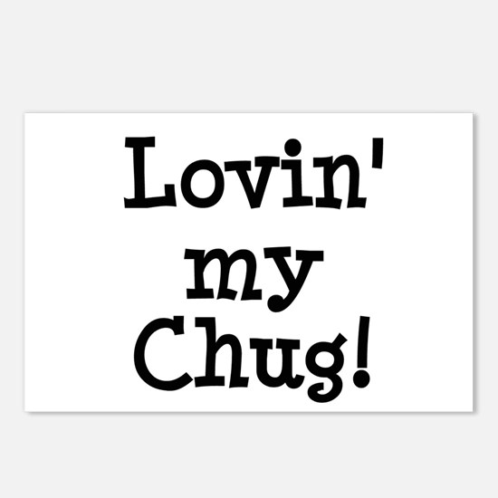 Lovin' My Chug Postcards (Package of 8)