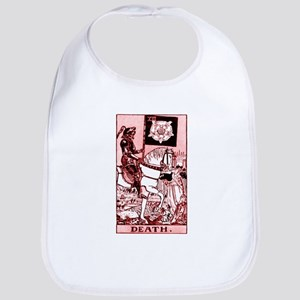 Red Death Cotton Baby Bib