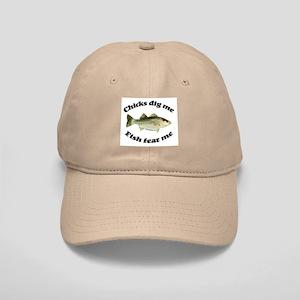 Chicks dig me, fish fear me Cap