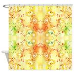 Cellular Hopscotch Shower Curtain