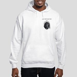 Black Horse Hooded Sweatshirt