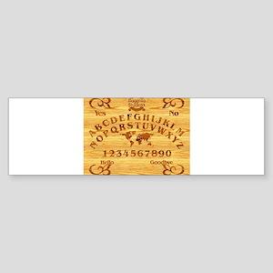 Ouija Board Sticker (Bumper)