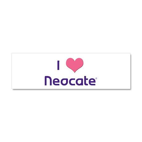 I Heart Neocate Car Magnet 10 x 3