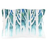Winter Silhouette Pillow Case