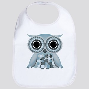 Little Blue Owl Bib