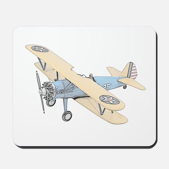 Stearman PT-17 Bi-Plane Mousepad