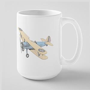 Stearman PT-17 Bi-Plane Large Mug