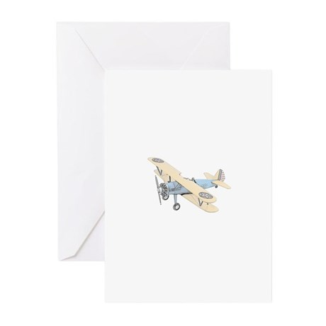 Stearman PT-17 Bi-Plane Greeting Cards (Pk of 20)