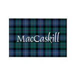Tartan - MacCaskill Rectangle Magnet (100 pack)