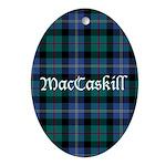 Tartan - MacCaskill Ornament (Oval)