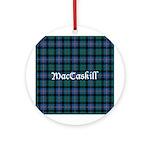 Tartan - MacCaskill Ornament (Round)