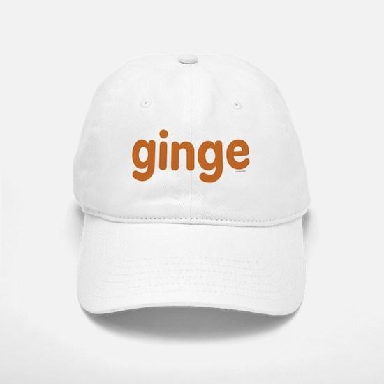 Ginge Baseball Baseball Cap