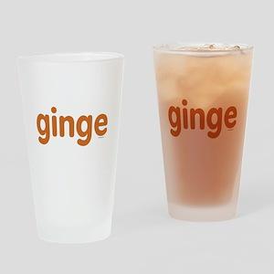 Ginge Drinking Glass