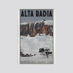 Alta Badia Rectangle Magnet
