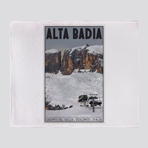 Alta Badia Throw Blanket
