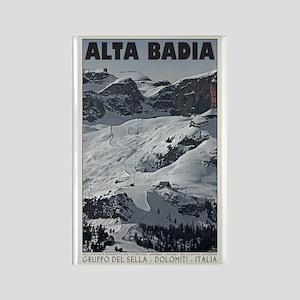 Alta Badia Run 20 Rectangle Magnet
