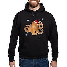 Christmas - Octopus Hoodie (dark)