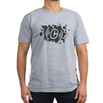 Concrete Software Grunge Logo Men's Fitted T-Shirt