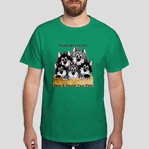 Spay Neuter Litter Dark T-Shirt