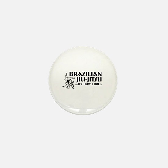How I Roll Mini Button