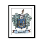 Janowski Coat of Arms Framed Panel Print