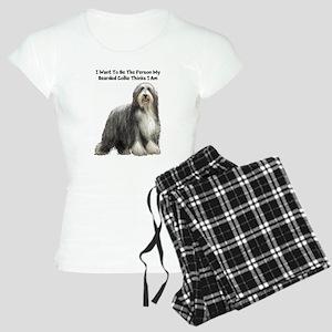 Bearded Collie Women's Light Pajamas
