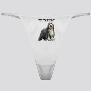 Bearded Collie Classic Thong